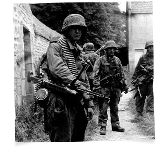 german troops normandy 1944