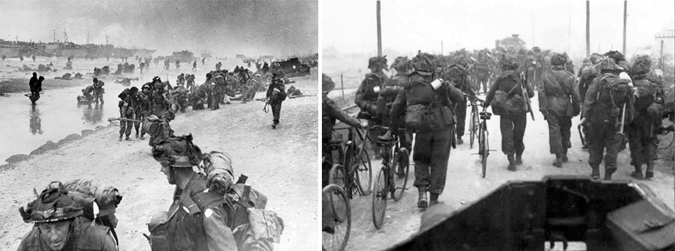 d-day sword beach bicycles