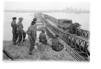 rhine crossing buffalo bridge 1944
