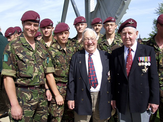 normandy veterans pegasus bridge