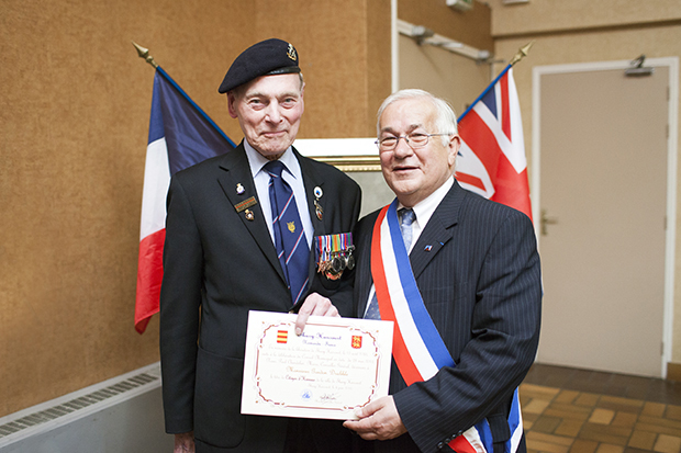 Normandy Veteran in Thury Harcourt