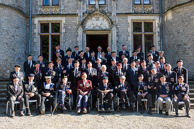 d-day revisited veterans 2015
