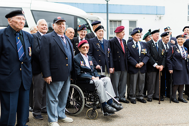 british normandy veterans portsmouth