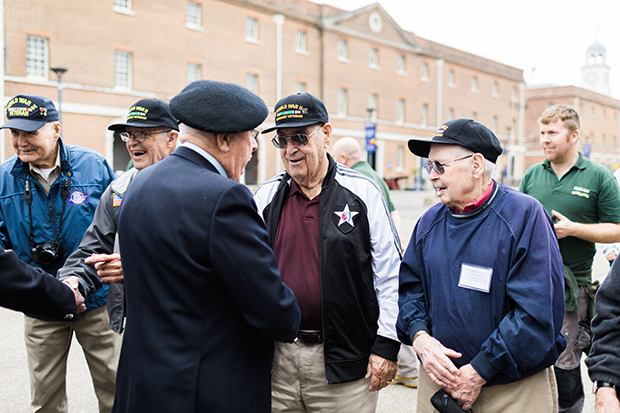 british and us d-day veterans