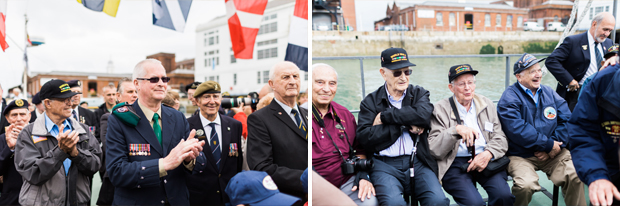 d-day veterans in portsmouth june 2014