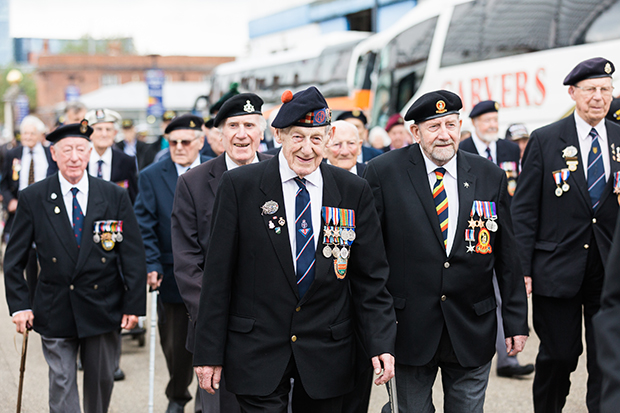 normandy veterans portsmouth historic dockyard