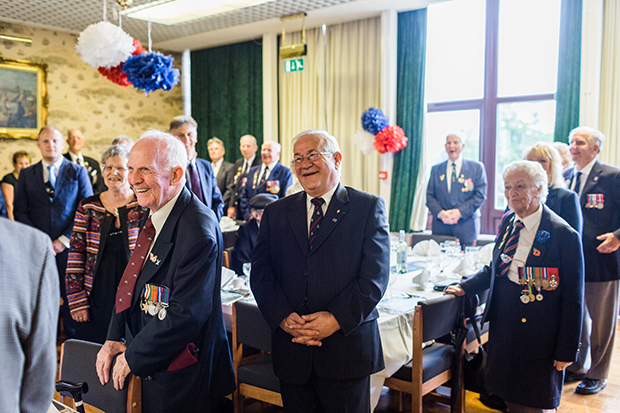 normandy veterans at southwick house