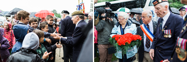 normandy veterans at thury-harcourt