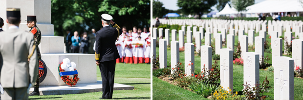bayeux cemetery 70th anniversary june 2014