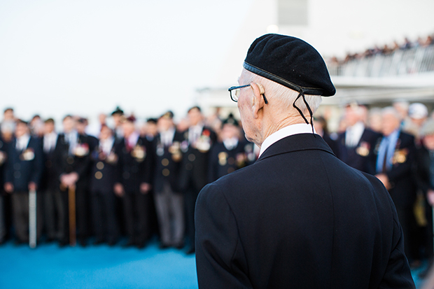 d-day veterans remember those lost at sea