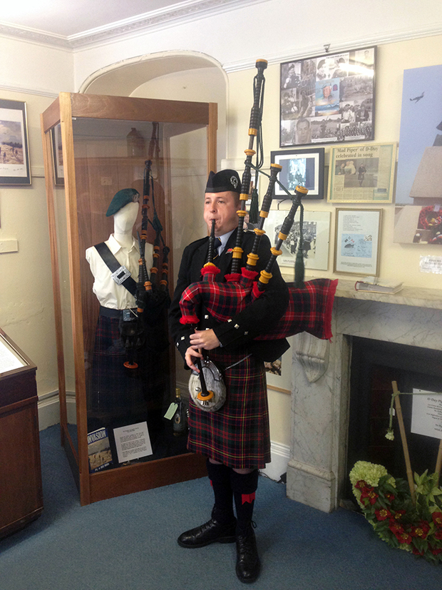 millin-montgomery bagpipes dawlish museum