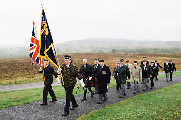 4 Commando Remembrance ceremony Spean Bridge