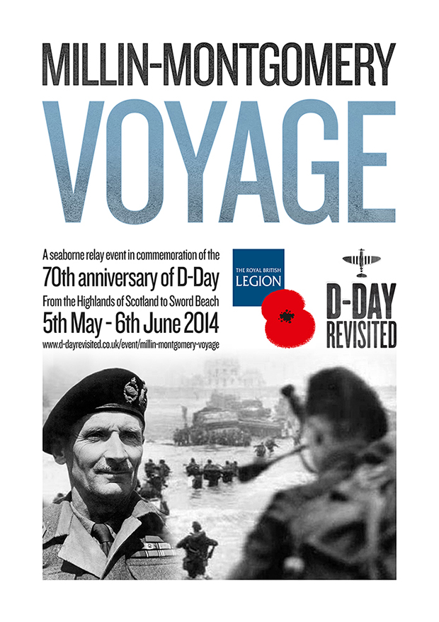 Millin-Montgomery Voyage D-Day 70th anniversary