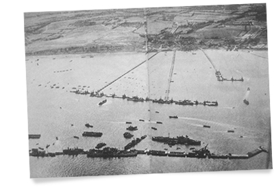 mulberry harbour 1944