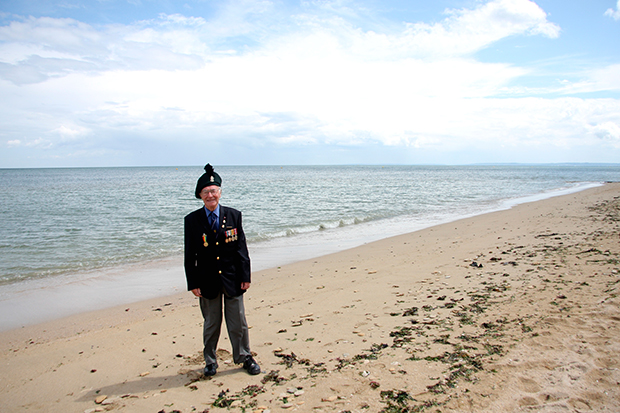 veteran john shanahan sword beach june 2009
