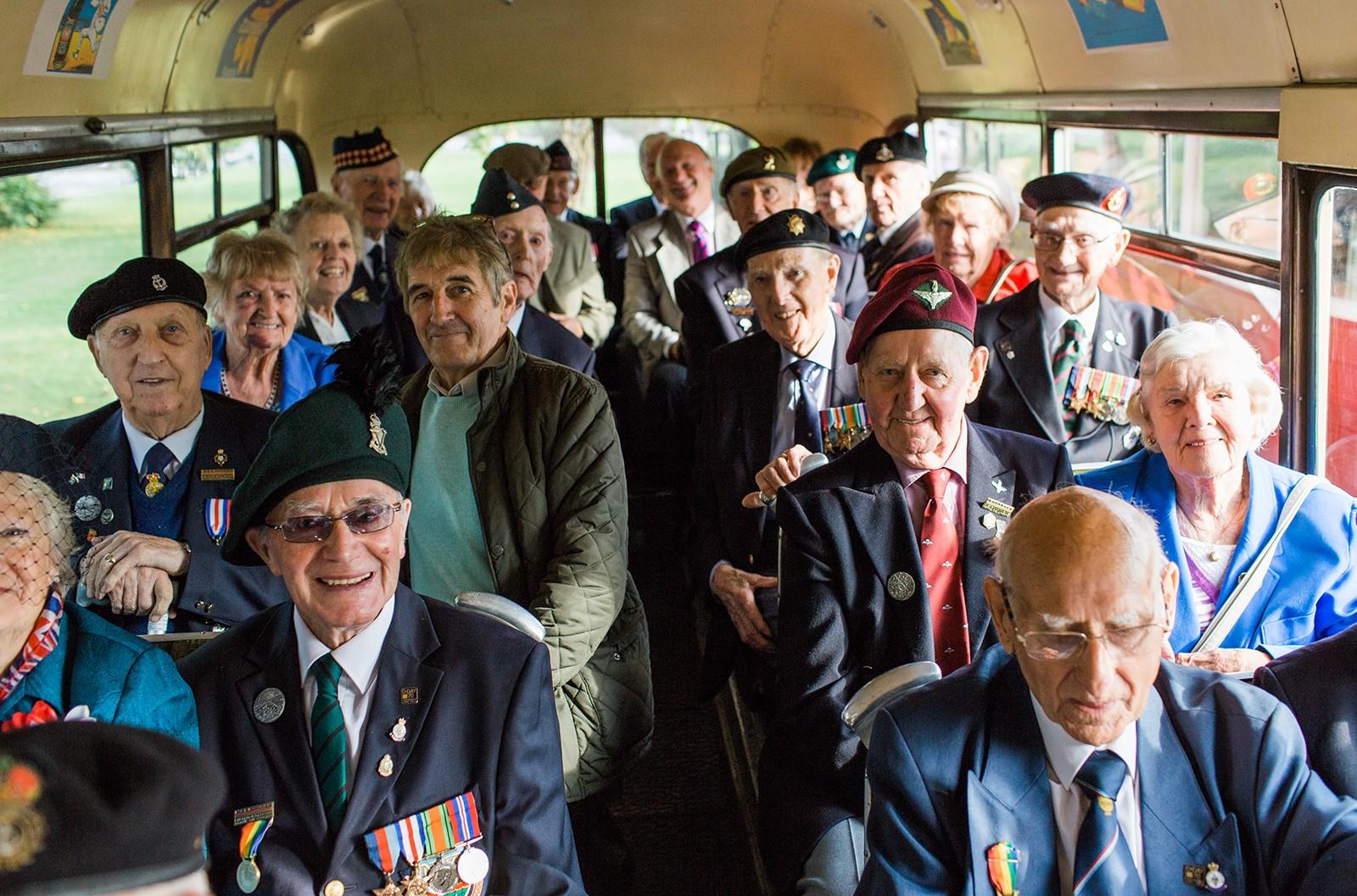 WW2 veterans at Goodwood