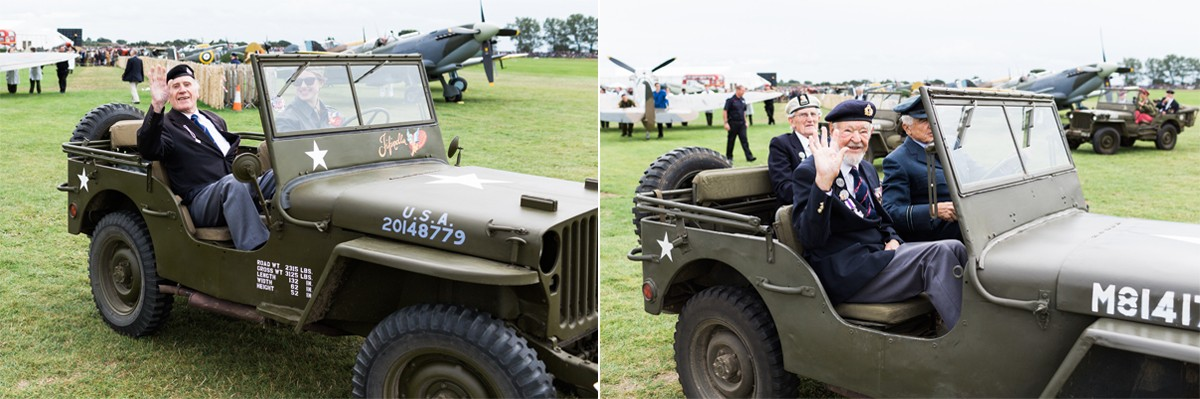 Normandy veterans Goodwood Revival