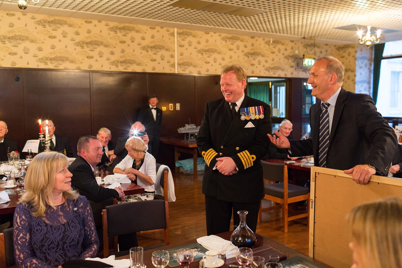 Captain Rex Cox meets D-Day Veterans