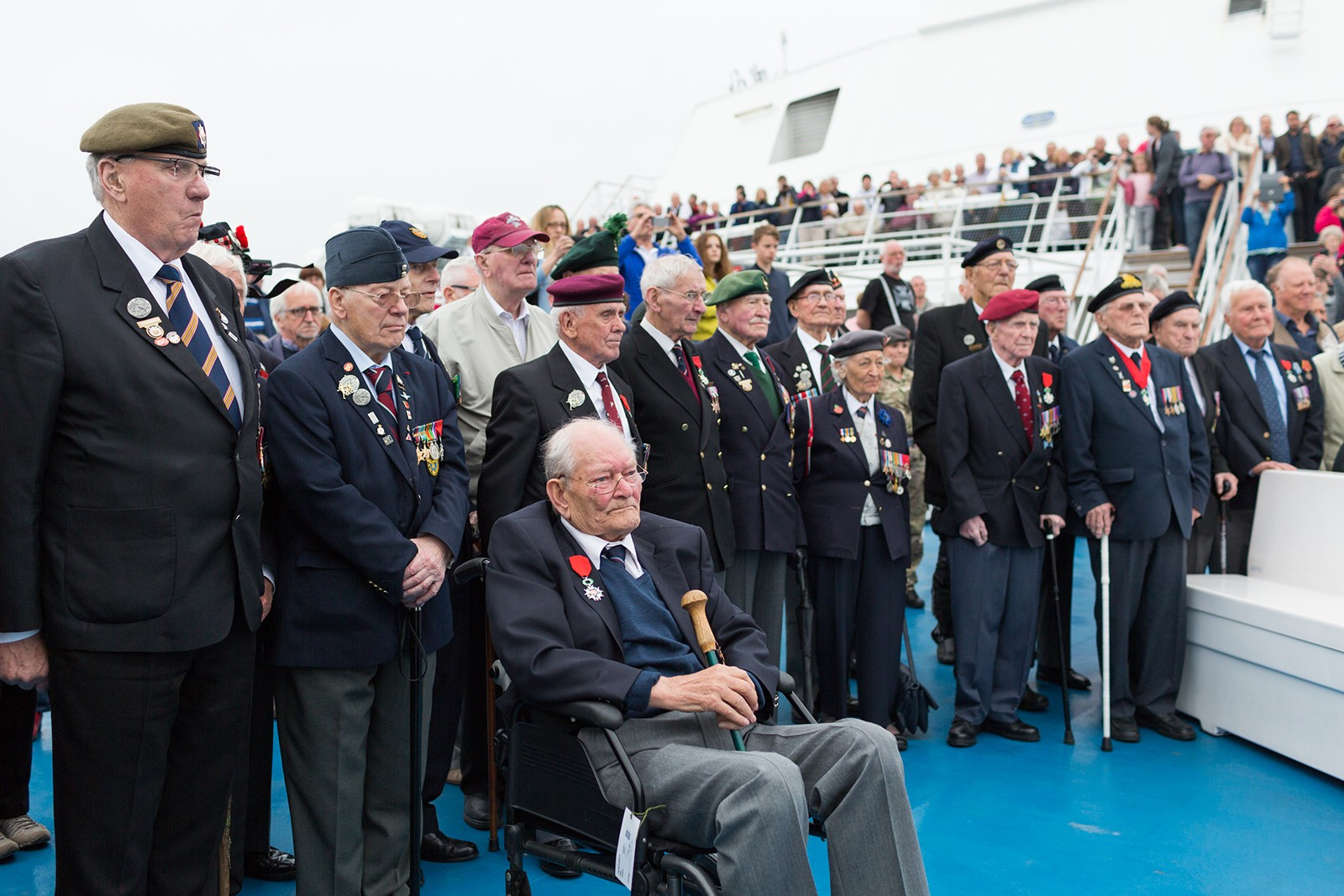 D-Day Veterans travel to Normandy 2014