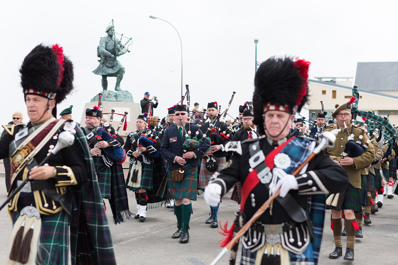 Jedburgh Pipe Band Colleville-Montgomery