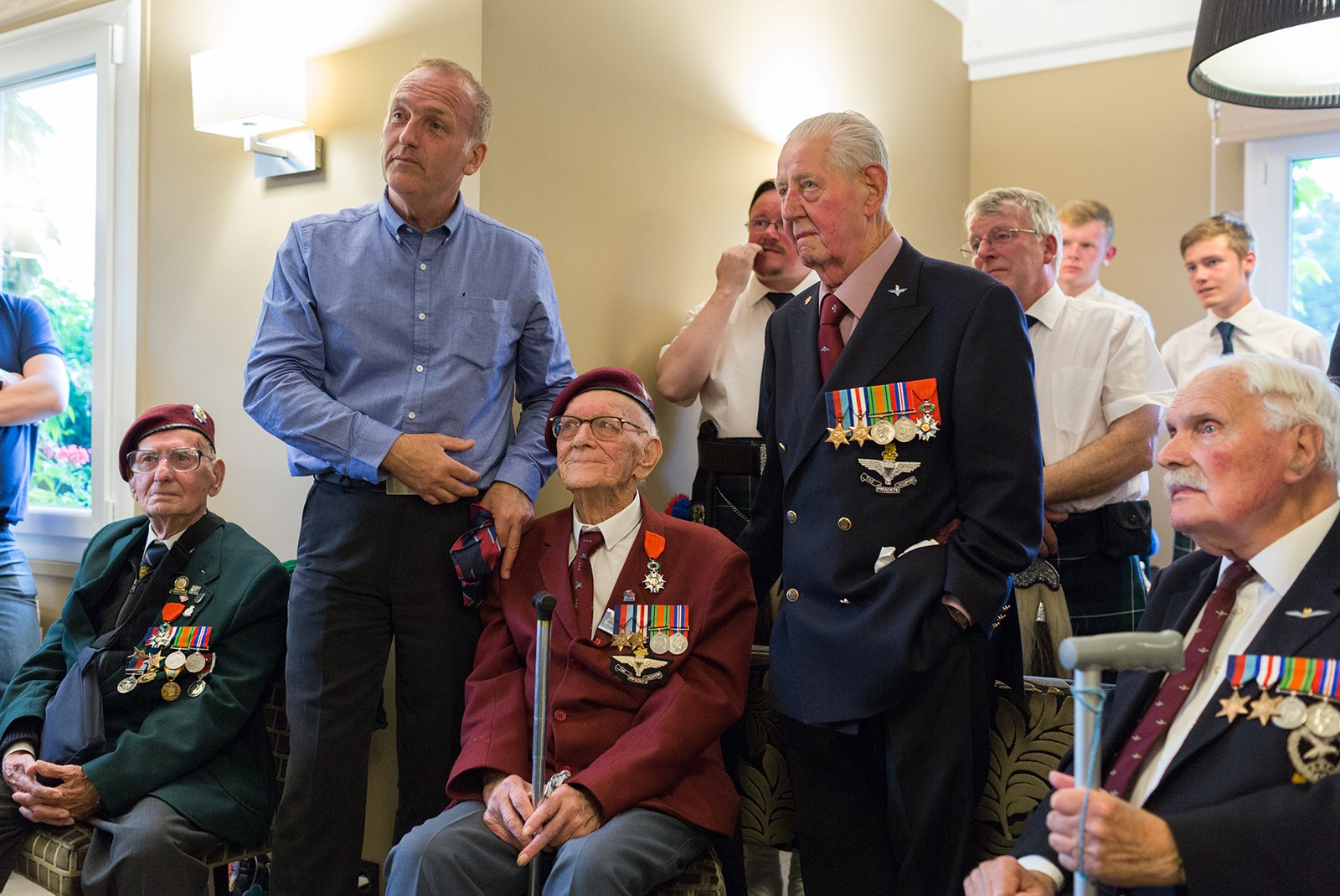 Para Veterans share their D-Day stories