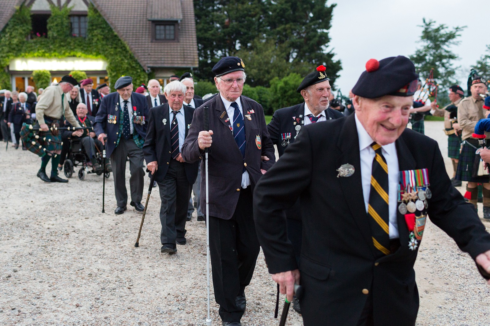 D-Day Veterans in Normandy