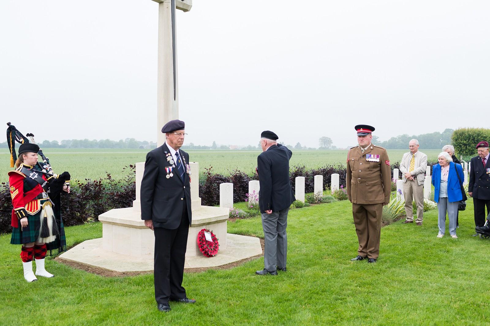 British D-Day Veterans Secqueville Cemetery