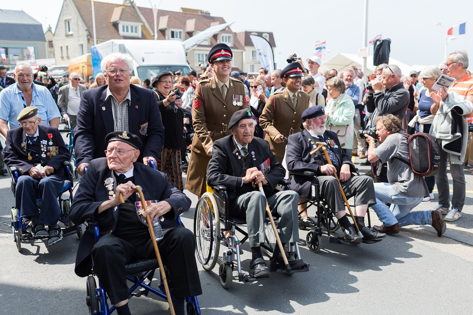 Normandy Veterans celebrated in Arromanches