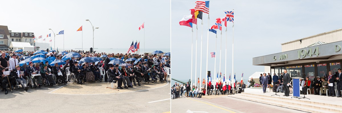D-Day 72nd anniversary Arromanches