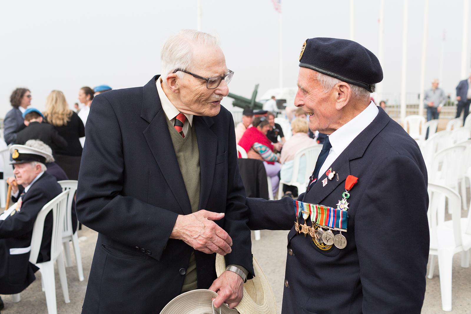 Normandy Veterans Arromanches