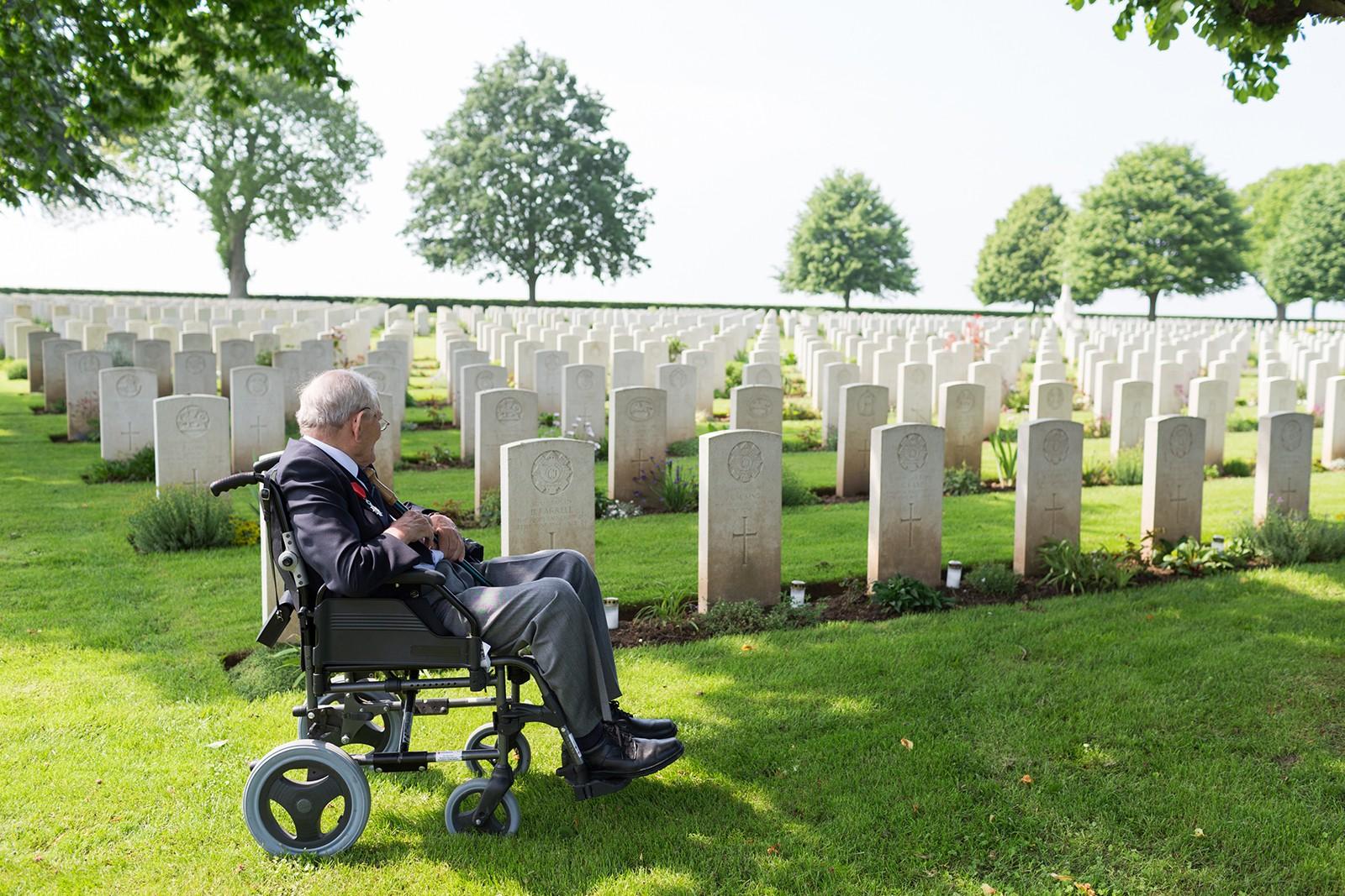 DLI Veteran St. Manvieu Cemetery
