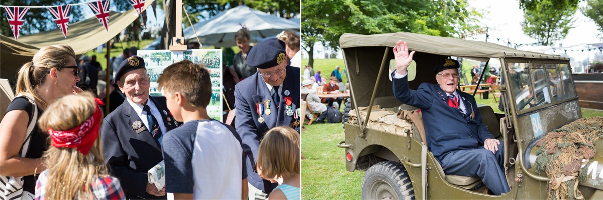 D-Day Veterans fundraise Goodwood Revival