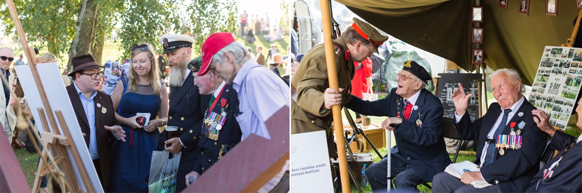 D-Day Veterans at Goodwood