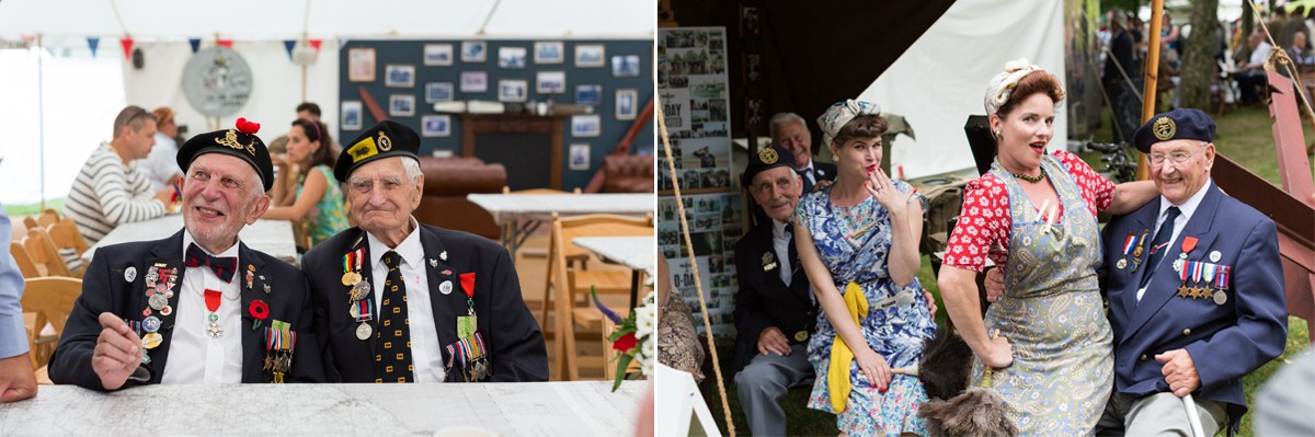 D-Day Veterans Goodwood Revival 2016