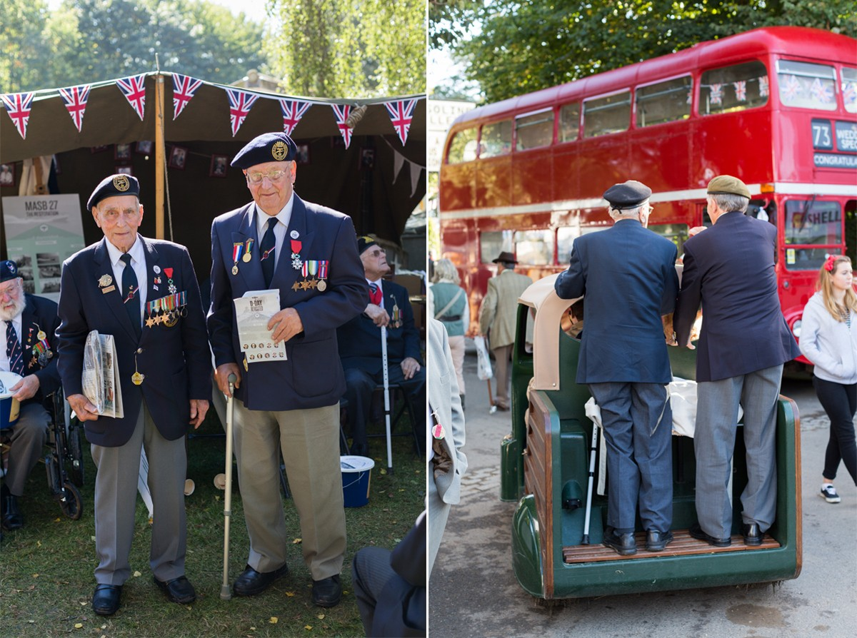 Normandy Veterans fundraise Goodwood Revival