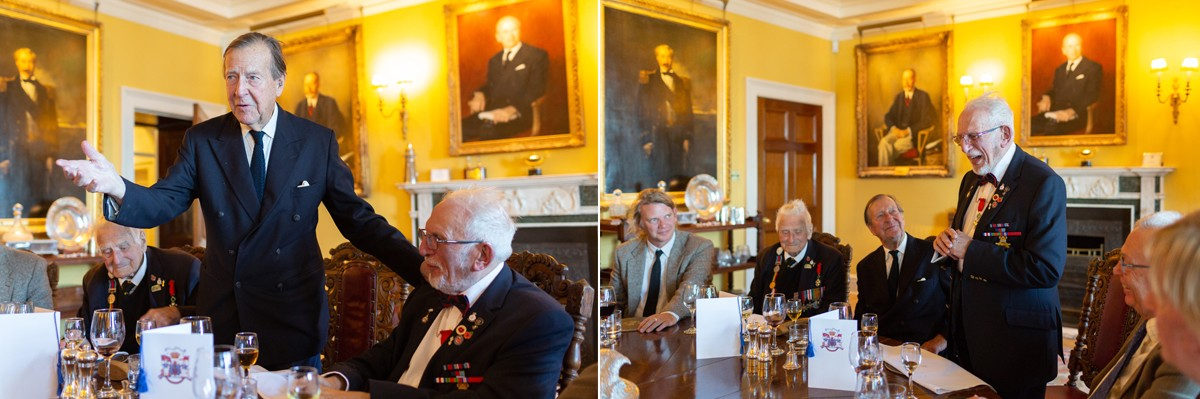 Rodney Agar hosts D-Day Veterans at Royal Yacht Squadron