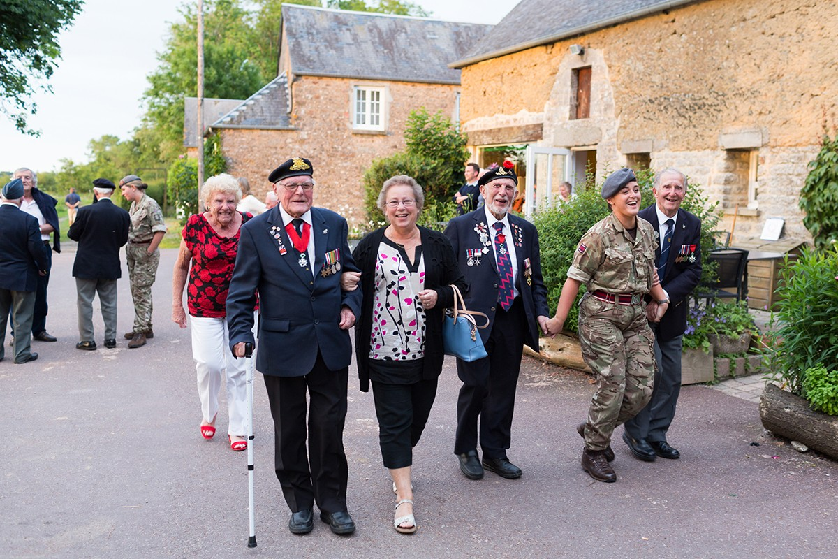British D-Day Veterans visit Normandy