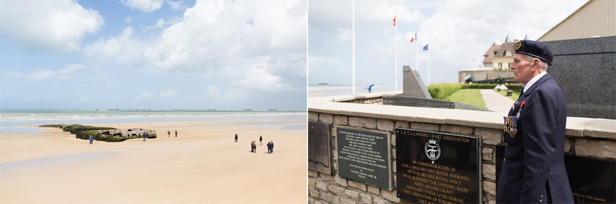 Veterans pay tribute to Landing Craft at Arromanches
