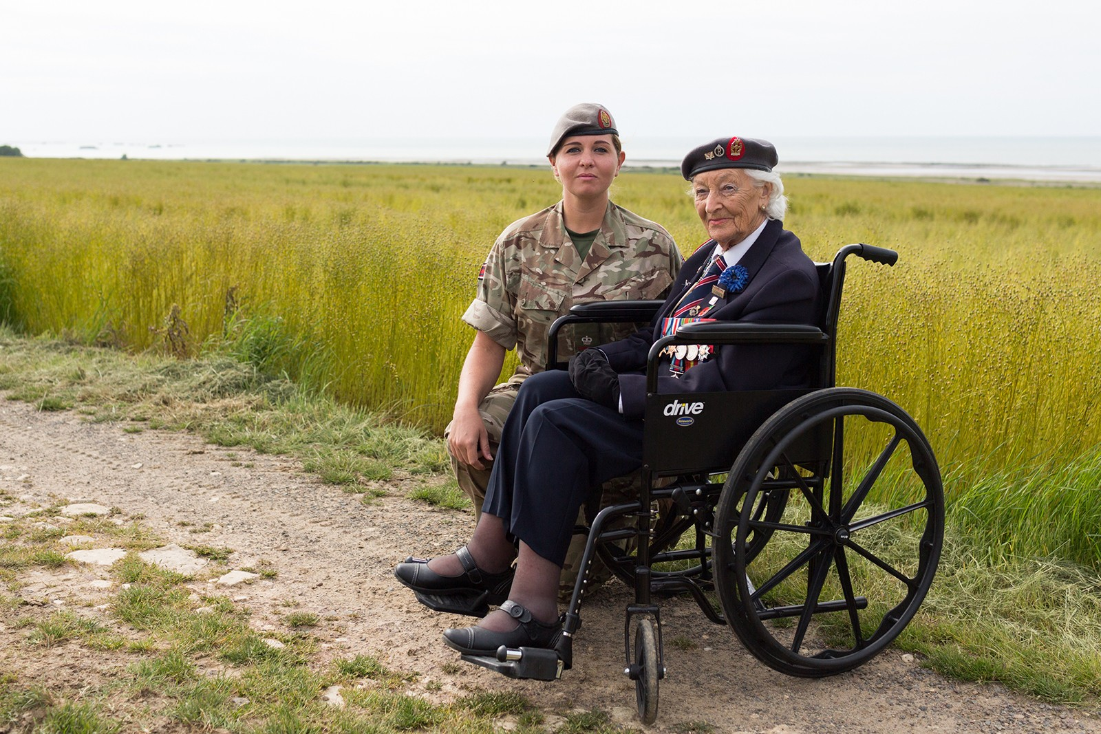QA Nurse D-Day Veteran Vera Hay Gold Beach