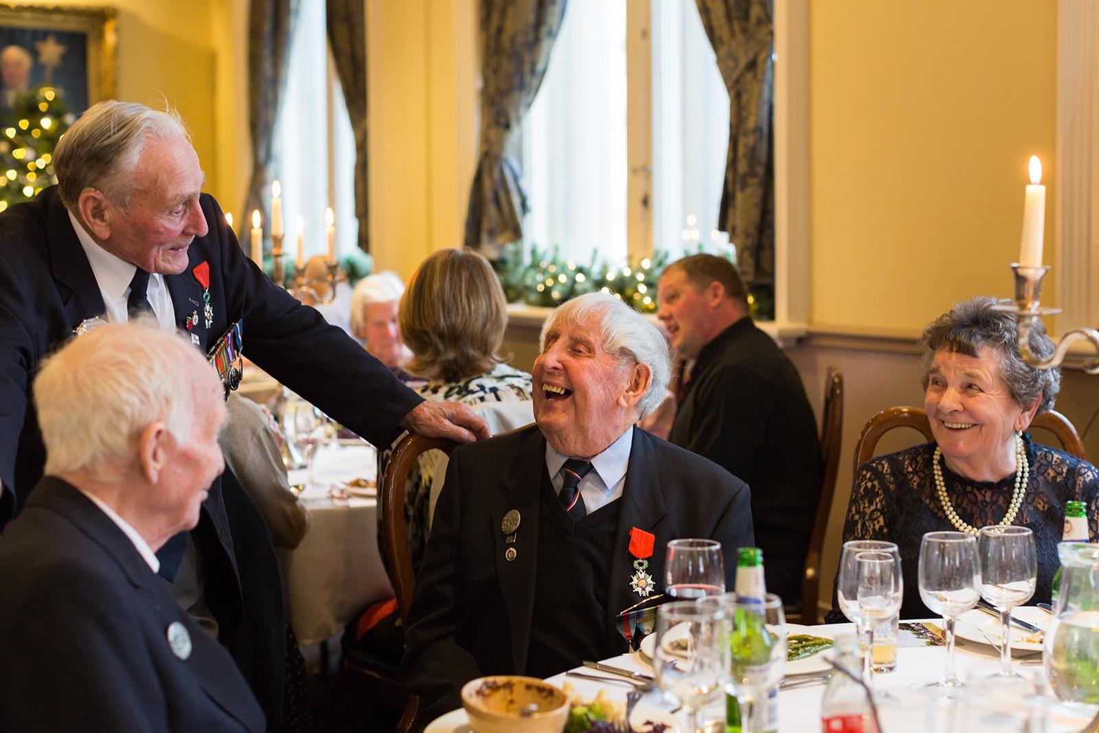D-Day Veterans reunion