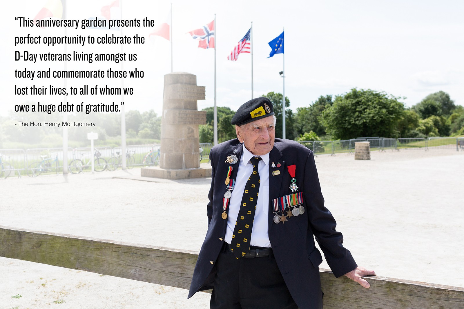 D-Day 75 Garden Bill Pendell MM