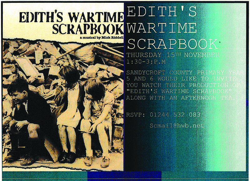 edith's wartime scrapbook