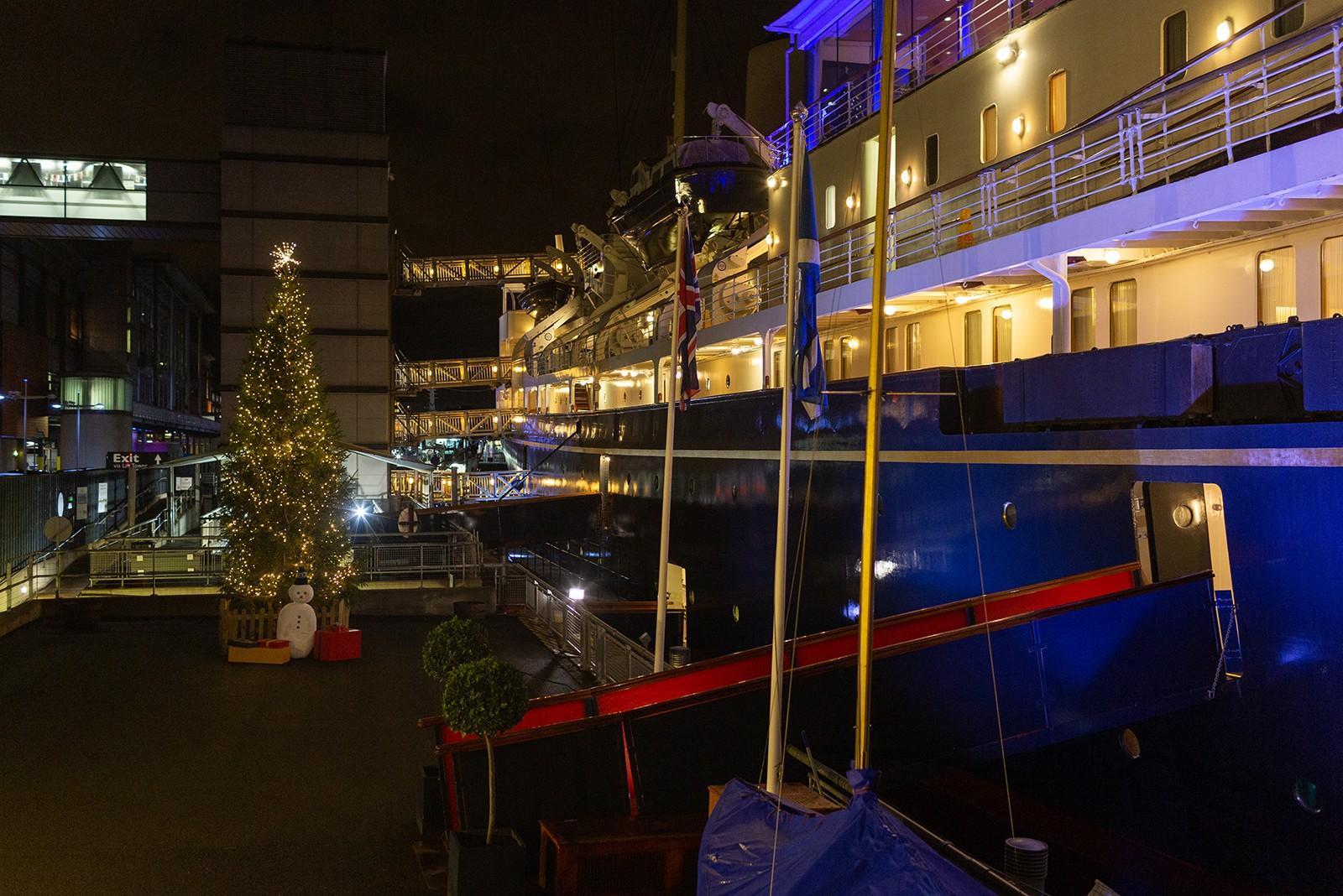 Christmas Royal Yacht Britannia