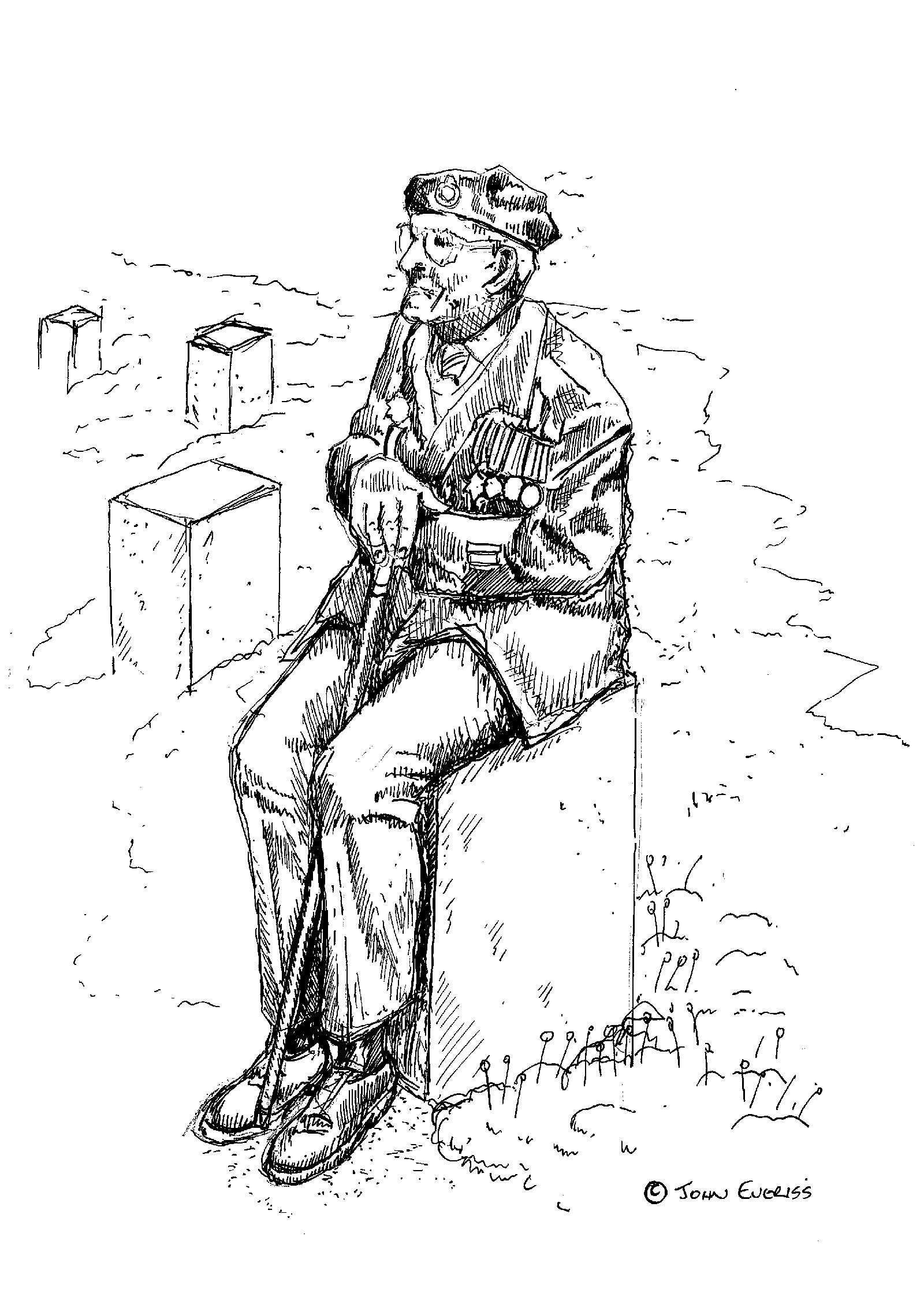 d-day 75 garden veteran