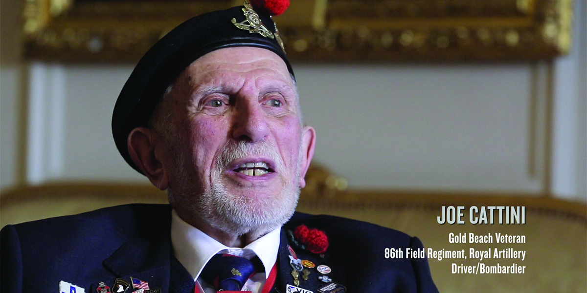 2019 – Joe Cattini remembers D-Day
