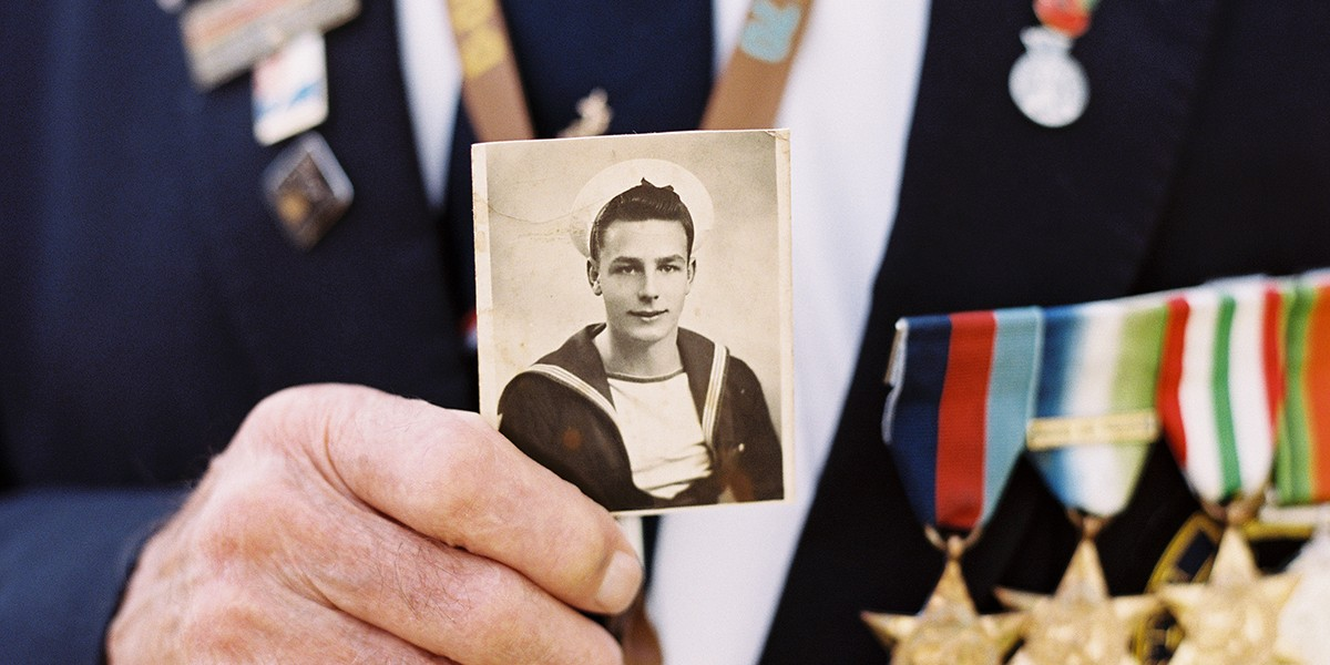 2019 – Royal Navy D-Day veteran revisits America after 77 years