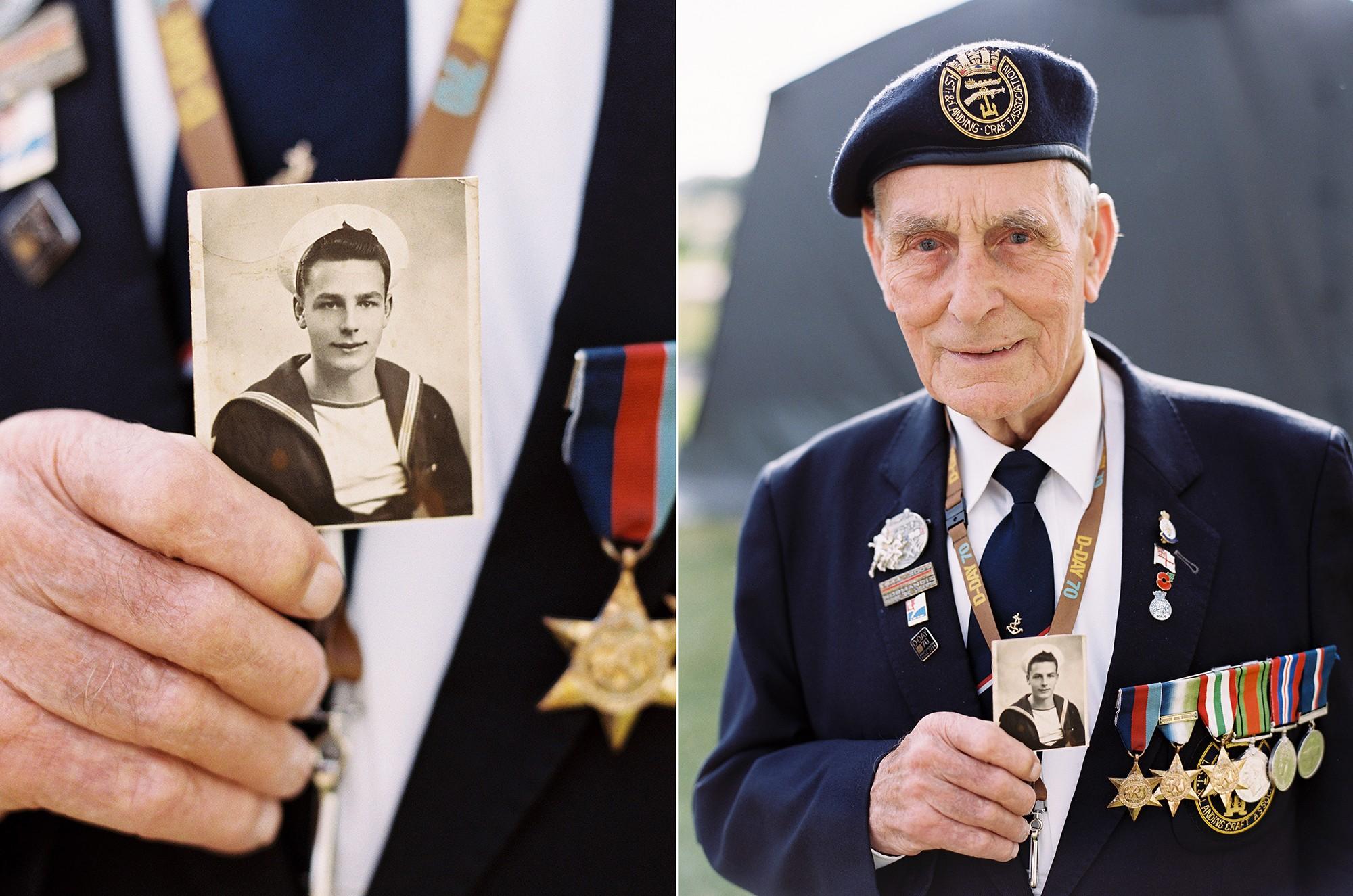 D-Day veteran John Dennett