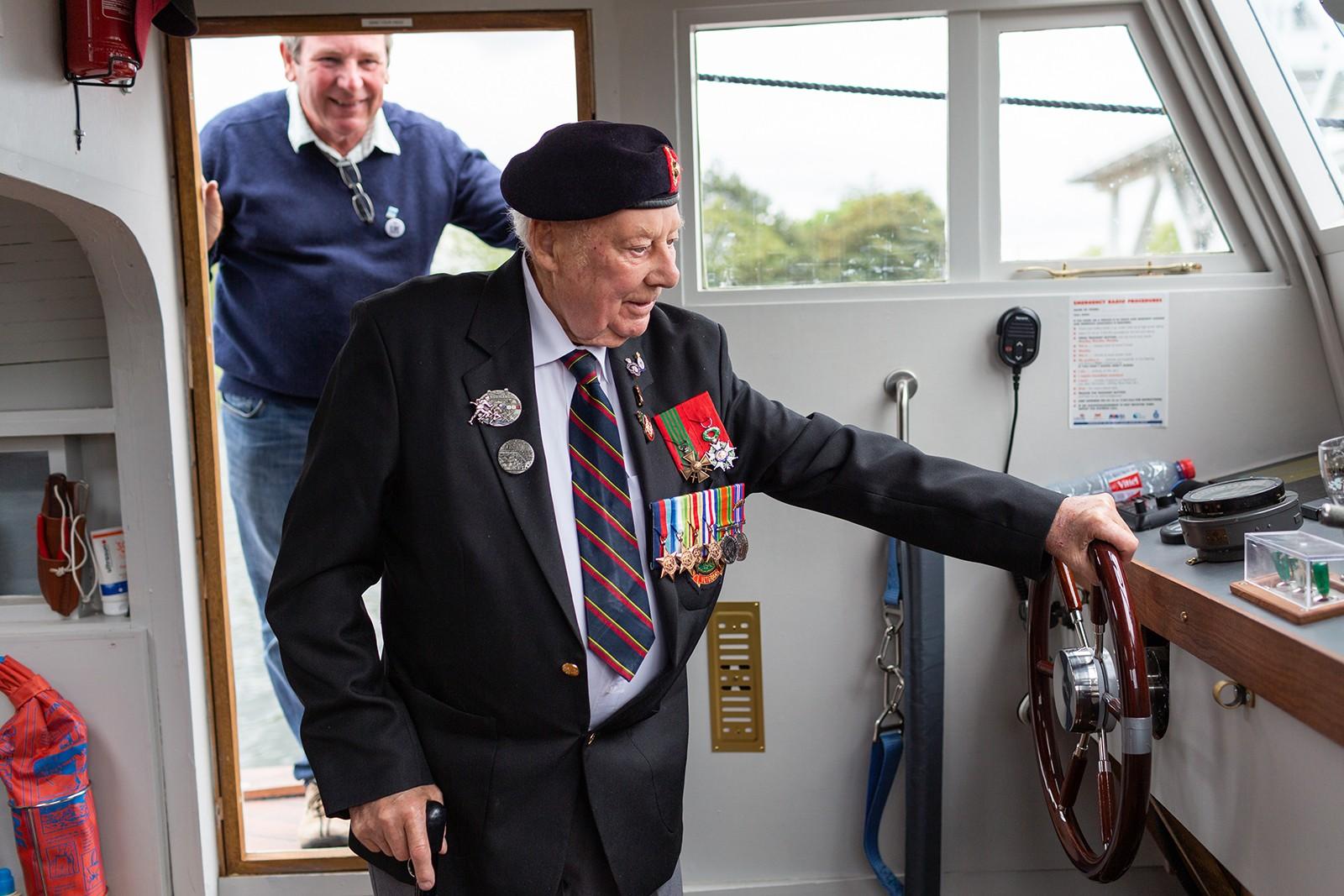 Guernsey liberation veteran