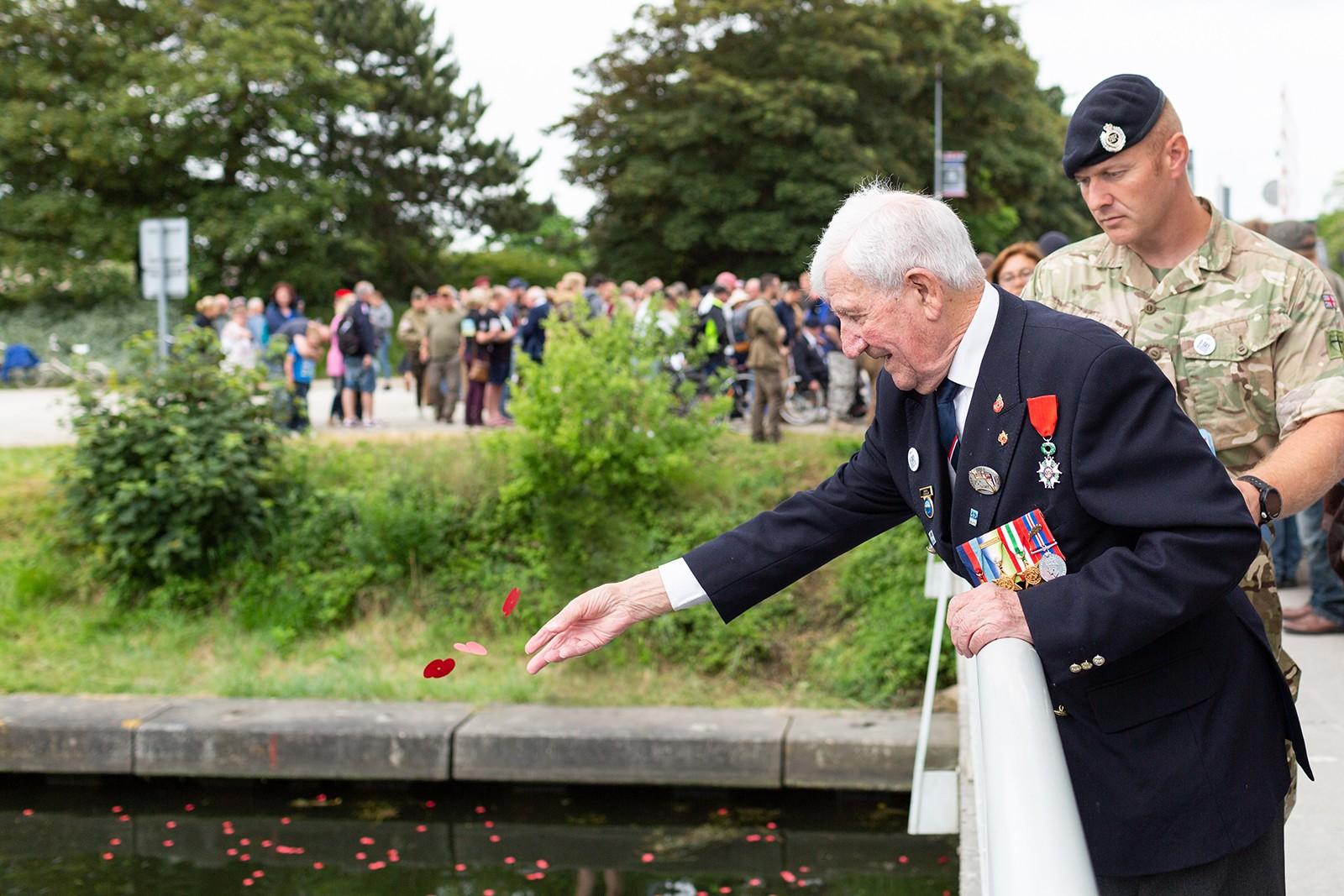 D-Day veteran remembers fallen comrades