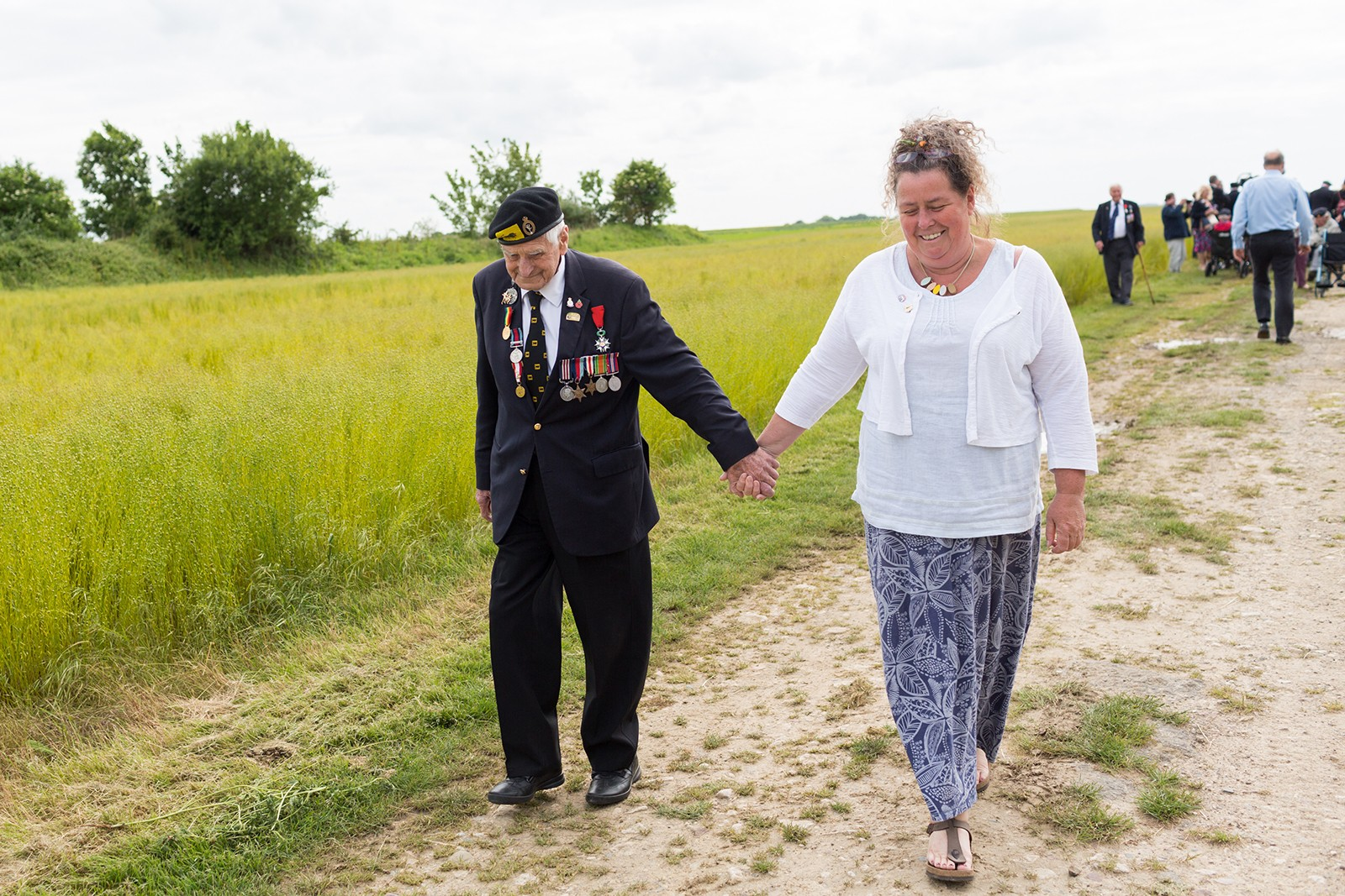 WWII veterans' families